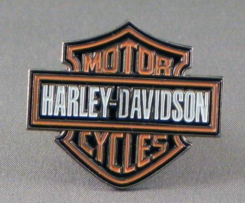 metal-enamel-pin-badge-brooch-harley-davidson-insignia-logo
