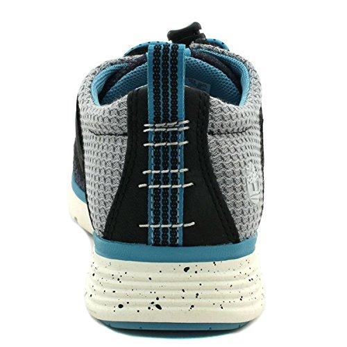 TIMBERLAND A16W7 blu sleet youth's scarpe bambino sneakers lacci oxford Blu-Grigio