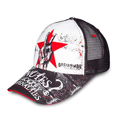 Scallywag® Eishockey Cap Less Penalties I Baseballcap Trucker Mesh Style in One Size Fits All (OSFA) I A BRAYCE® Collaboration (Hockey Mütze) -