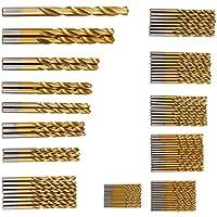 98 tlg Titan HSS Cobalt Spiralbohrer Satz/Set 1,5-10mm Werkzeug Set Metallbohrer bohrer Stahlbohrer DIN338 Werkzeug HSS-Bohrersatz