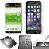 Xtra-Funky Cristal Templado compatible con iPhone 6 plus / 6s Plus (5.5' Screen) - Ultra Fino 0.26mm Protector Pantalla a Resistente a Los Arañazos - Tempered Glass