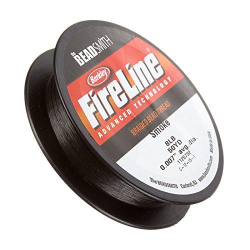 Fireline aufreihmaterialien Gewinde Smoke 3,6kg 50yd 0cm