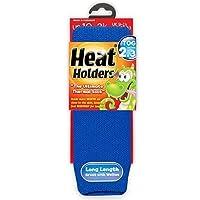 Kids Heat Holders Thermal Socks 9-1 uk, 27-33 eur Royal Blue