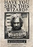 ABYstyle Harry Potter - Poster Wanted Sirius Black (98x68cm)