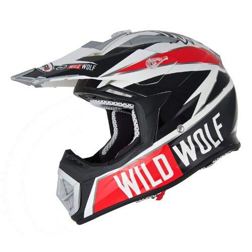 CASCO OFF-ROAD SHIRO MX-912 WILD WOLF UNICO TAGLIA XXL