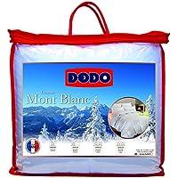 Dodo Couette Naturelle Mont Blanc Percale 70% Duvet d'Oie et de Canard 260 x 240 cm