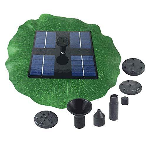 Cai-1 pompa ad acqua per fontana solare, 1.6 w monocotiledina 200l / h cortile paesaggio in miniatura galleggiante, fontana galleggiante in miniatura