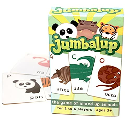 Jumbalup - the fun kids card game of jumbled up animals for children (5+) and families