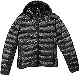 PEARL outdoor Jacke: Daunenjacke, schwarz, Größe S, Unisex (Daunenjacke Herren)
