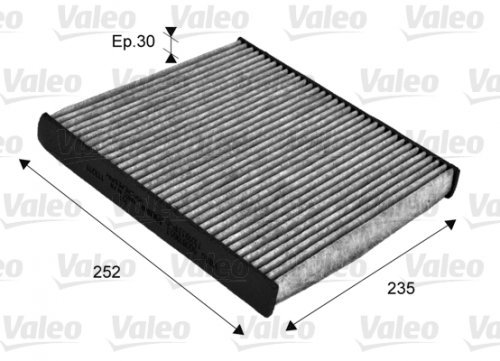 Preisvergleich Produktbild Valeo 715720 ClimFilter Protect Filter,  Innenraumluft