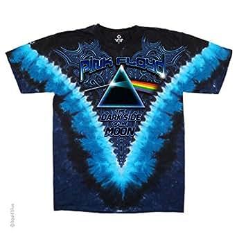 Pink Floyd - The Darkside of the Moon (T-Shirt Schwarz)Pink Floyd Batik Shirt - Lizenzware (M(Medium))