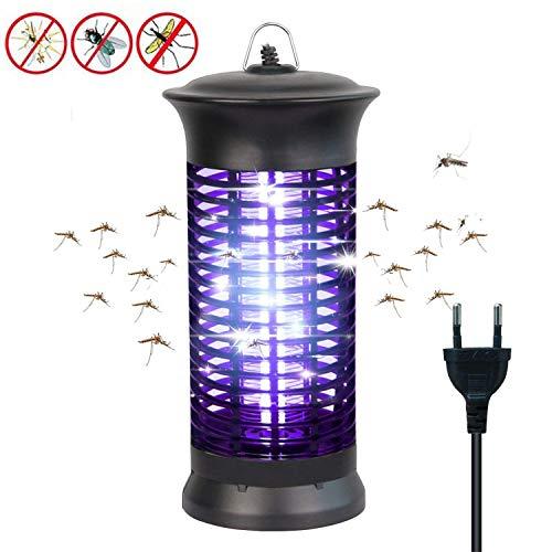 bldberry Insektenvernichter Elektrisch mit UV-Licht Elektronischer Mückenschutz Gegen Mücken, Fliegen, Moskitos Insektenabwehr für - Park Schlafzimmer