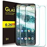KuGi Motorola One/Moto Android One Protection Ecran,Motorola One/Moto Android One Ultra Résistant Film Protection écran Glass [Dureté 9H] pour Motorola One/Moto Android One(Pack de 2)