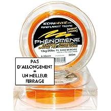 Technipeche Phénomène - Sedal monofilamento de pesca, color naranja, talla 0,20/200 m