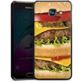 Samsung Galaxy A3 (2016) Housse Étui Protection Coque Hamburger hambourgeois Cheeseburger Fast Food