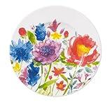 Villeroy & Boch 10-4444-2660 Anmut Flowers Brotteller, Porzellan