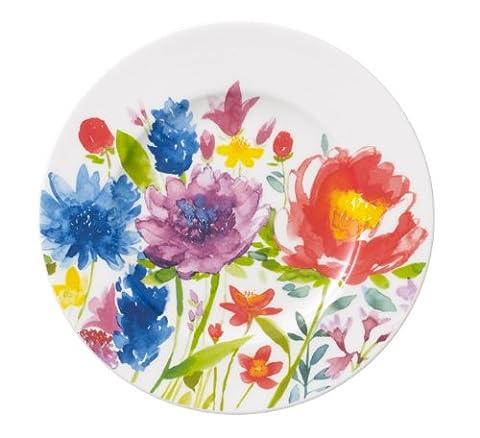 Villeroy & Boch 1-Piece 16 cm Premium Porcelain Anmut Flowers Bread and Butter Plate