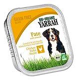 Yarrah Pate Huhn Seetang 150g Bio Hundefutter, 14er Pack (14 x 0.15 kg)