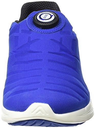 Puma Ignite Disc, Chaussures de course homme Bleu (Surf The Web/Silver)