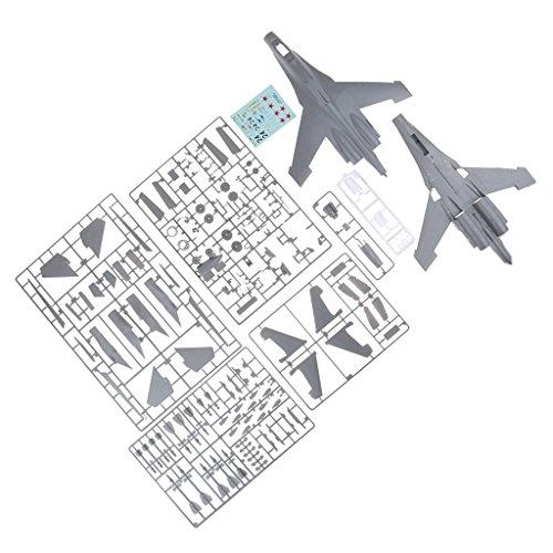 Baoblaze 1/48 Militär Flugzeug Hubschrauber Kämpfer DIY Modellbau