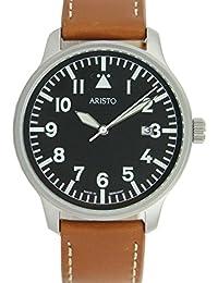 Aristo 3H84 - Reloj , correa de cuero