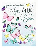 Get Well Soon Grußkarte Krankenhaus Speedy Recovery Betrieb schlecht Unfall