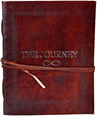 Craft Play Handicraft The Journey Leather Notebook