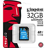 KINGSTON carte SDHC Pro SDA10/32GB UHS-I SDHC/SDXC Classe 10 - 32Go
