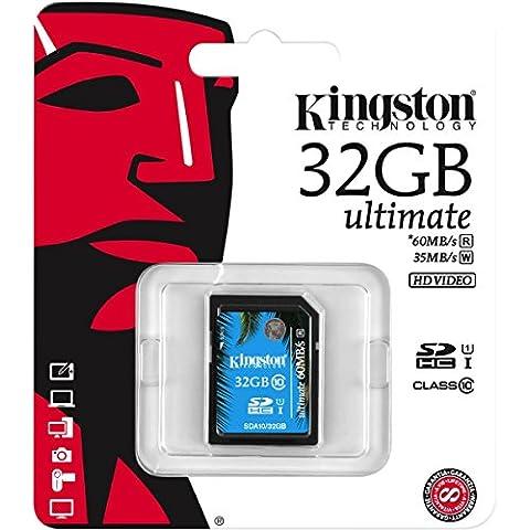 KINGSTON-Scheda SDHC/Pro SDA10 32GB, UHS-I SDHC/SDXC Classe