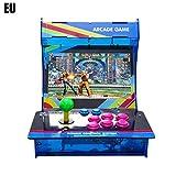 Prom-note Mini Recreativa Arcade Hogar Maquina de Juego 1399 en 1 Juegos incorporados Doble Espalda con Espalda con Pantalla LCD de 10 Pulgadas