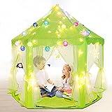 Triclicks Prinzessin Castle Kinder Spielzelt - Indoor/Outdoor Kinder Spielhaus - Prinzessin Schloss Baby Playhouse (Grün)