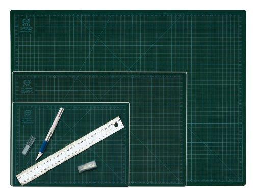 Wedo 79130 Schneideunterlage Cutting Mat (selbstschließende Oberfläche, 30 x 22 x 0,3 cm) grün - 2