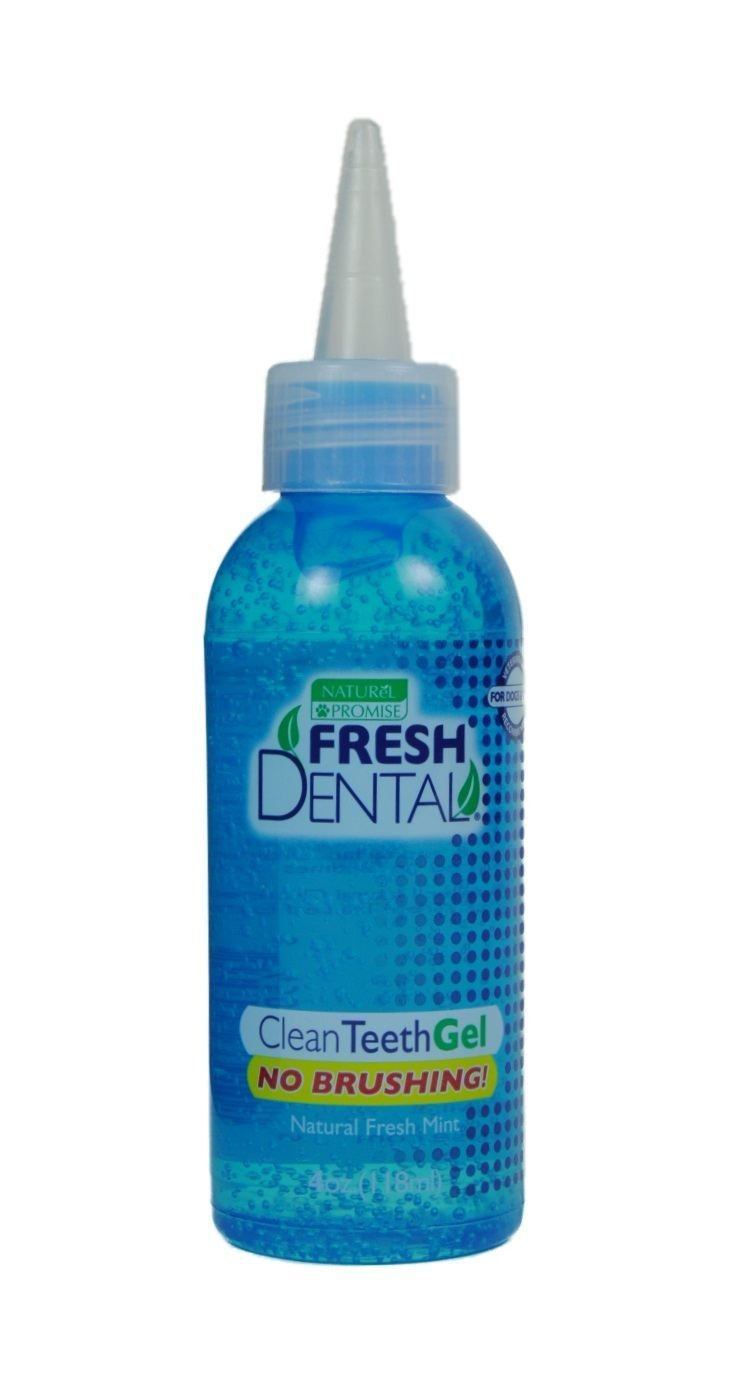Naturel Promise Fresh Dental Clean Gel for Dogs/Cats, 112mL (4-Ounce)