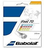Babolat iFeel 70 Badminton Saite, weiß (0,7 mm)
