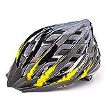 220g Ultra léger - Casque de vélo spécialisé, Casque de vélo de sport réglable Casques de vélo pour vélo de route et de montagne, Motocyclette pour hommes et femmes adultes, Course de jeunes, Protection de sécurité ( Couleur : Yellow M )
