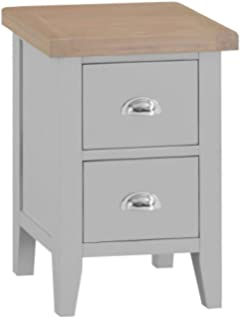 The Furniture Outlet Harrington Painted Oak Nest of 3 Tables