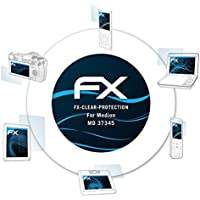 atFoliX Lámina Protectora de Pantalla para Medion MD 37345 Película Protectora - 2 x FX-