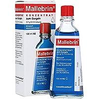 Mallebrin Konzentrat zum Gurgeln bei Entzündungen der Mundschleimhaut, des Zahnfleischs und bei Halsschmerzen,... preisvergleich bei billige-tabletten.eu