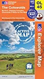 The Cotswolds (OS Explorer Map Active)