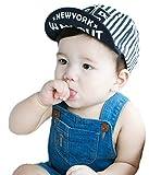 Baby Kleinkind Baseball-Mütze, Sonnenhut, Baumwolle, mit Krempe, Anglerhut-Design, für Mädchen und Jungen von 12-36Monaten