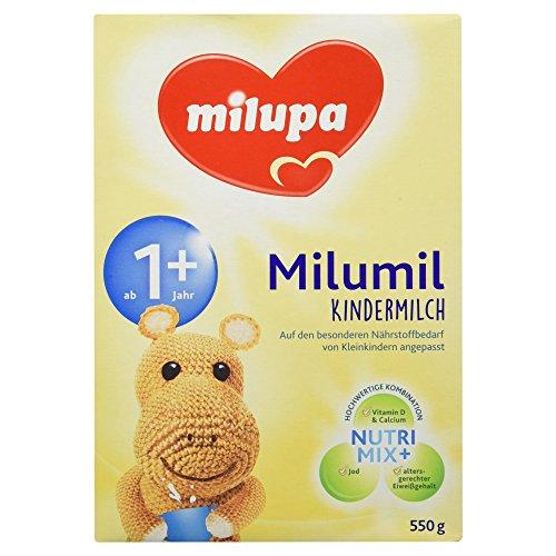 Milupa Milumil Kindermilch 1+ ab 1 Jahr, 550 g