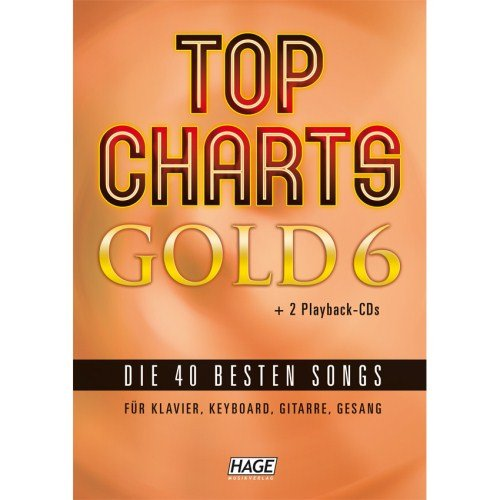 Hage - Top Charts Gold 6 + 2 CDs