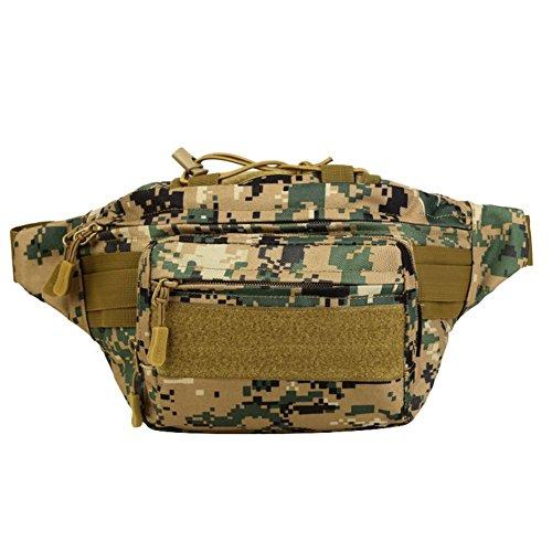 Reefa Tasche für Outdoor Sport Reiten für Männer C-Tarnung
