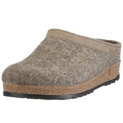 Haflinger Torben, Unisex-Erwachsene Pantoffeln, Beige (Torf 550), 36 EU