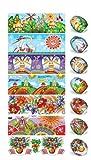 Ukrainisches-Kunsthandwerk, Ostereier Schrumpffolie. Ostern Fest. Fantasie Muster. Nr.3 reicht für 7 Eier