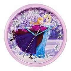 Idea Regalo - Disney Frozen Orologio da Parete, Metallo
