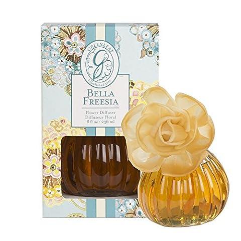 GREENLEAF Flower Perfume Diffuser Beautiful Freesia And Speakers