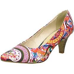 Tamaris 22455 Zapatos de Tacón para Mujer, Multicolor (Pink Comb 514), 40 EU