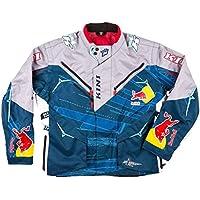 KINI 3L4016052 Equipamiento Piloto con Casco, Pantalon, Camiseta y Guantes, Talla S,