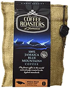 Blue Mountain Coffee 100% Jamaica Roasted Whole Beans